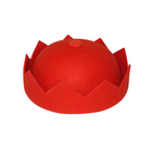 Crown Hat - Prada Red