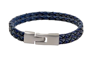 Blue cords, the color of loyalty, say the man is loyal to his family, friends, and values. Handmade in the USA.