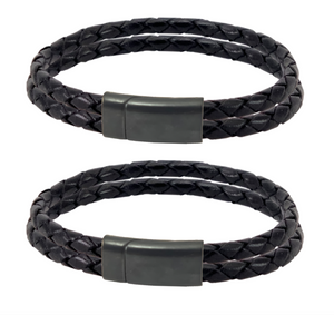 The Lautrec Noir Couple Bracelets