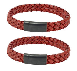 The Lautrec Rouge Couple Bracelets
