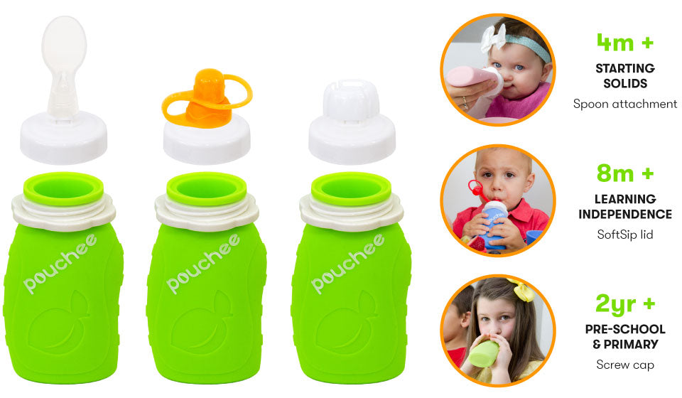 Pouchee Infant Spoon Set