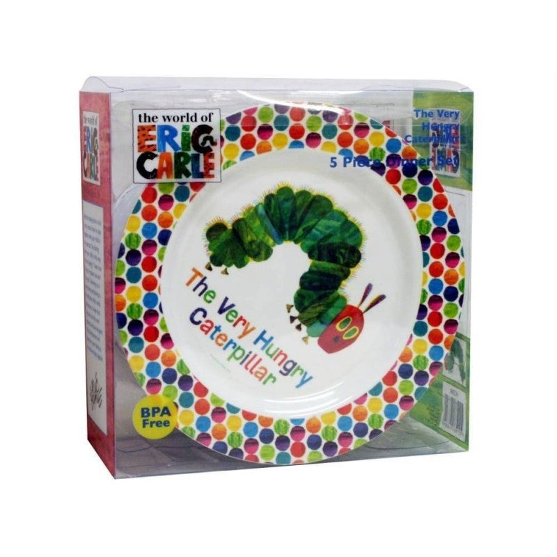 The Very Hungry Caterpillar Dinner Set