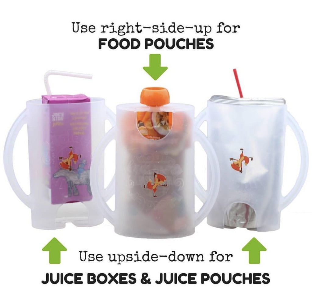 The Flipping Holder  | Yoghurt & food Pouch Holder