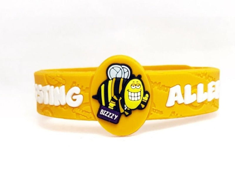 Children's Allergy and medical bracelets Bee My Baby NZ