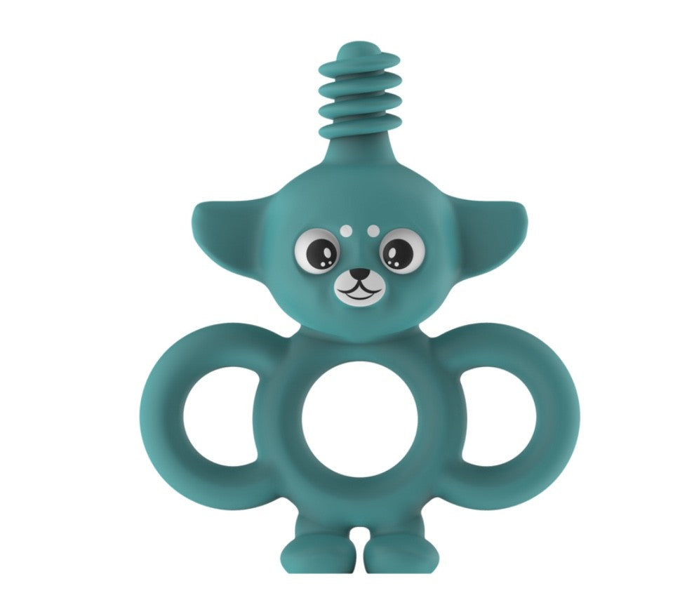 Yummy Buddy Infant Toothbrush/Teether Turquoise