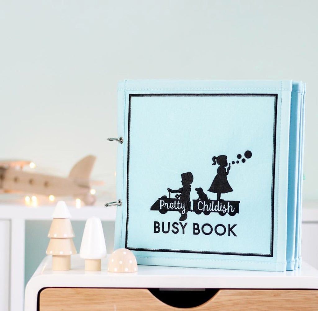 The Little Blue Busy Book - Toddler Activities