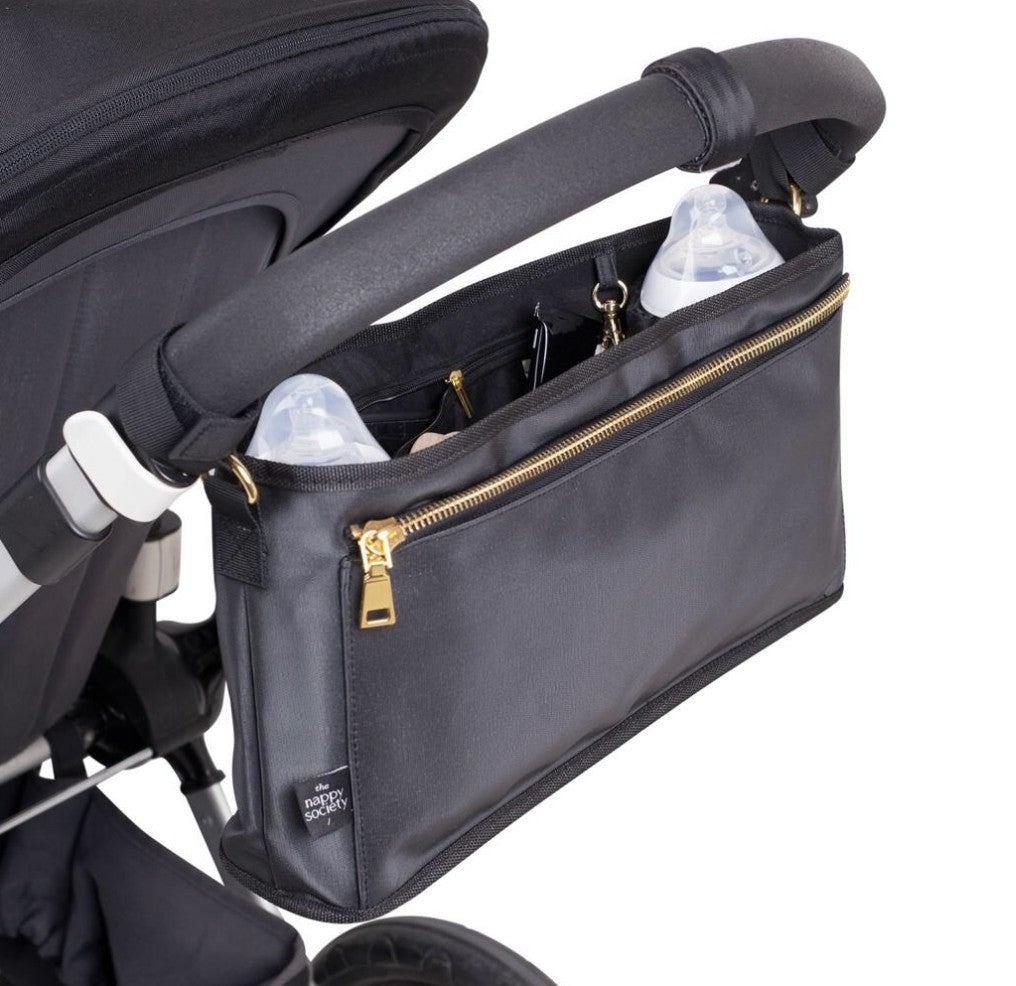 Pram Caddy - Black (SOLD OUT)