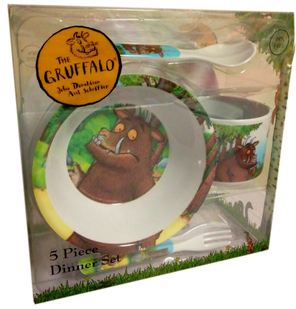 Gruffalo 5 Piece Dinner Set