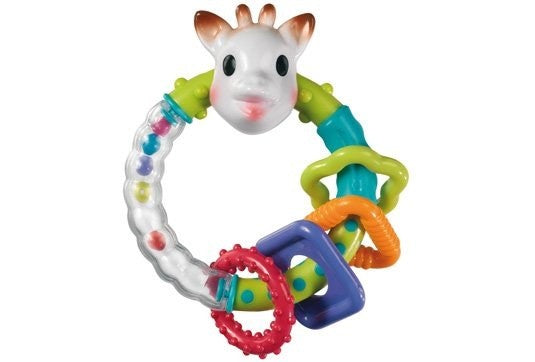 Sophie Rattle & Teething Ring