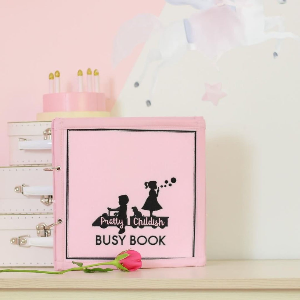 The Little Pink Busy Book - Toddler Activities - SOLD OUT