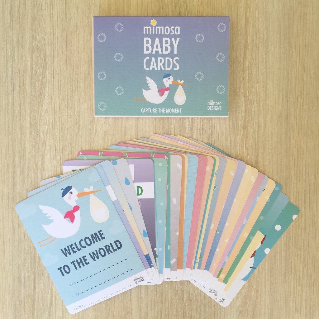 Baby Milestone Cards: 0 to 12mths