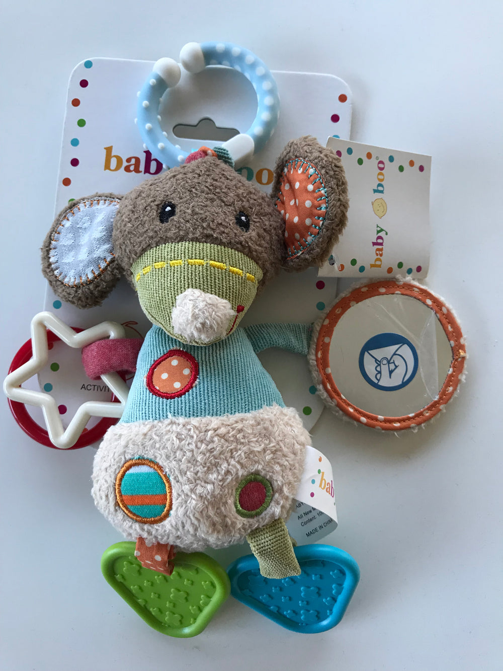 Baby Boo - Animal Rattles