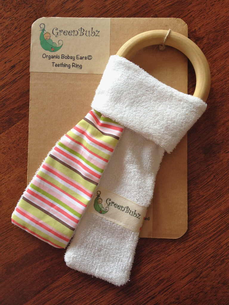 Organic Teething Ring SOLD OUT