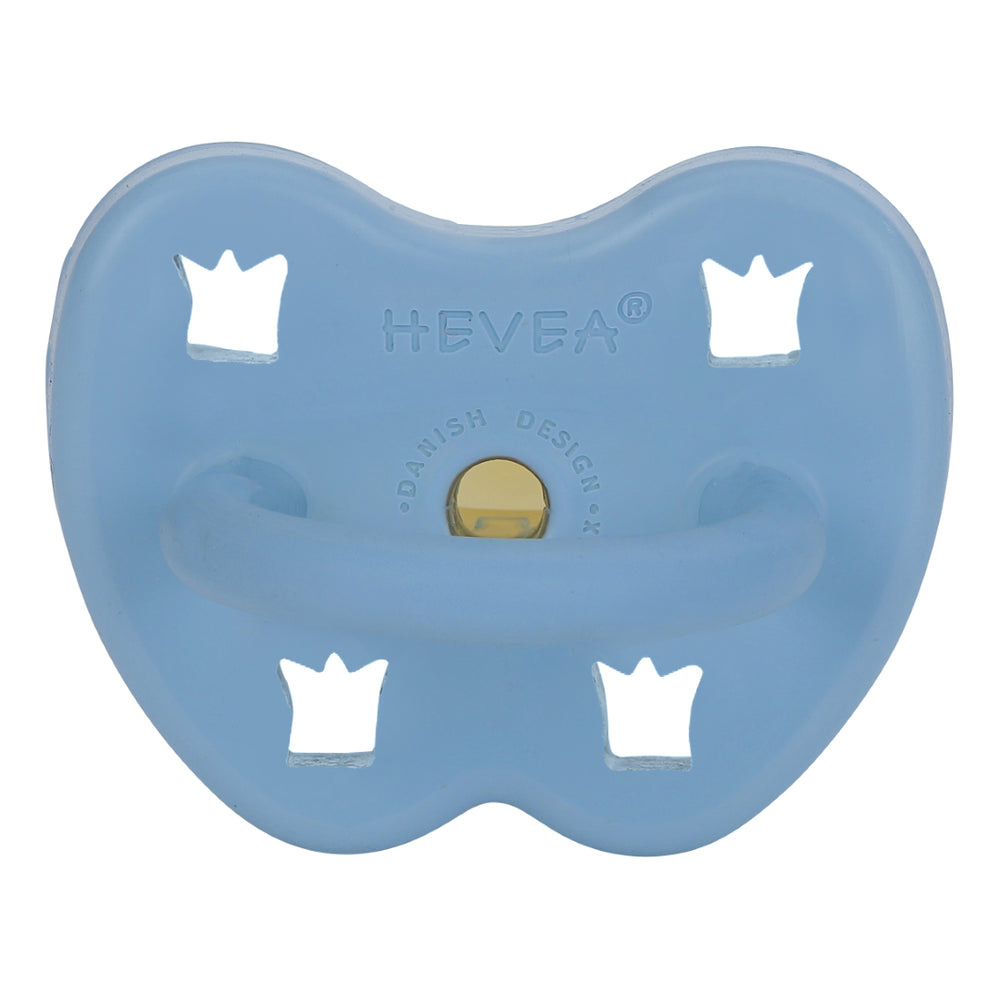 Hevea Natural Rubber Orthodontic Pacifiers | 5 colours available 3-36m