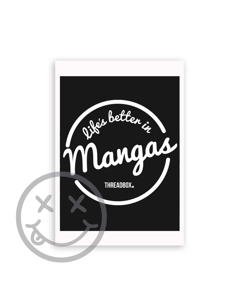 Life's Better A3 Print - Threadbox