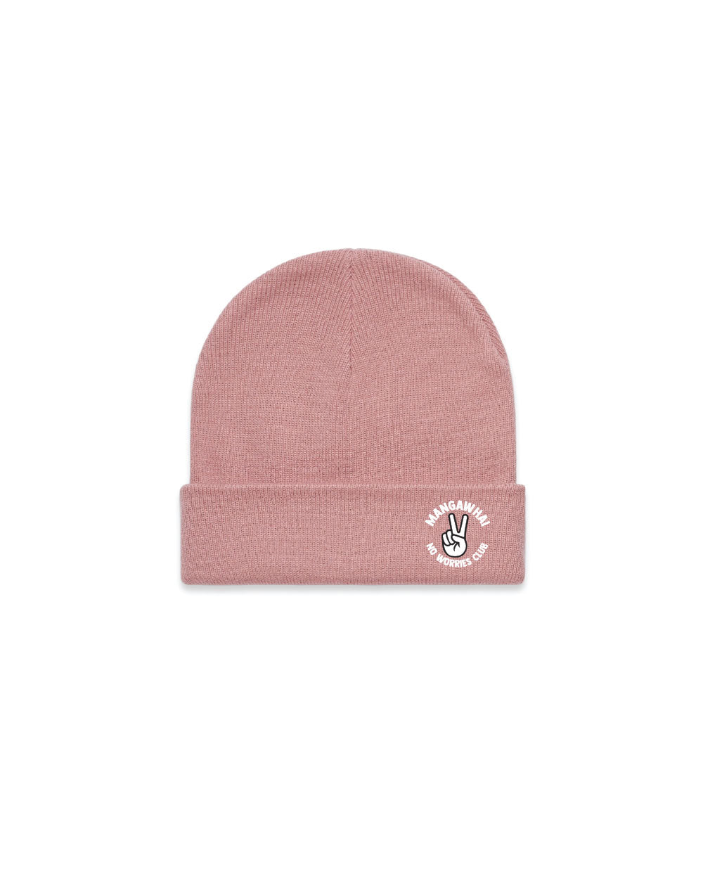 No Worries Pink Beanies - Threadbox