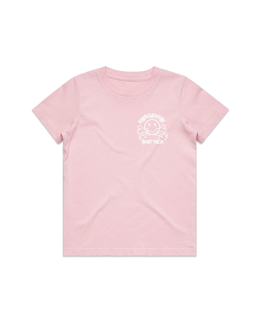 Kids Brat Pack Pink Tee - Threadbox