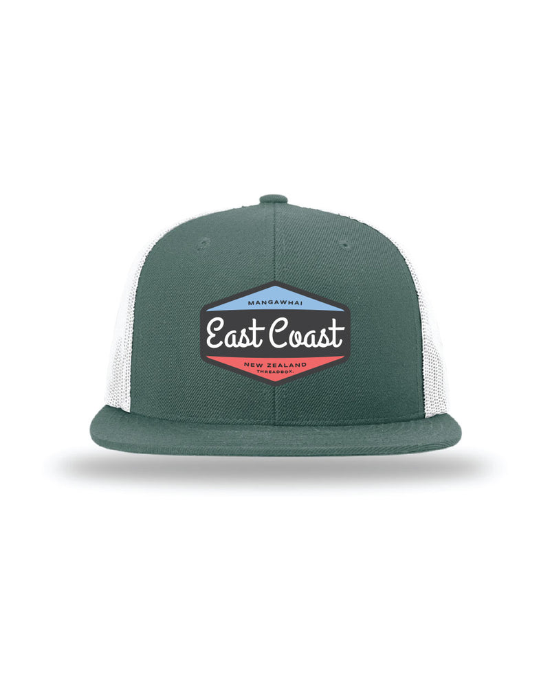 East Coast Wool Green Trucker Hat - Threadbox