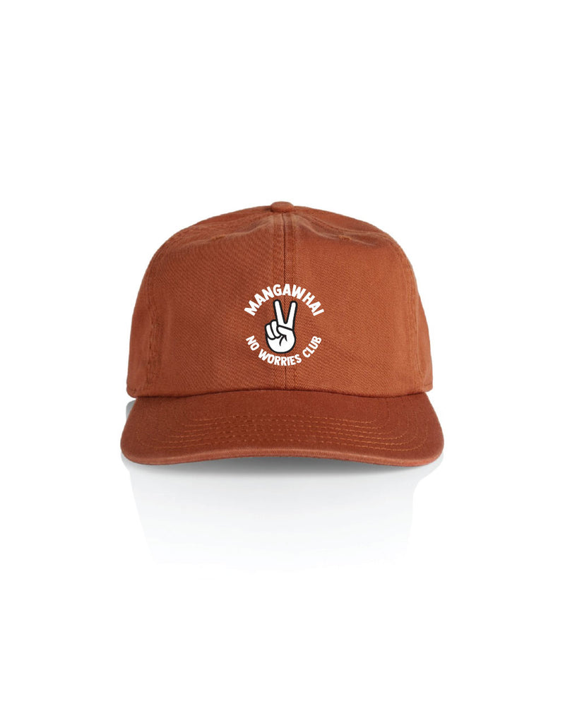 No Worries 6 Panel hat - Threadbox