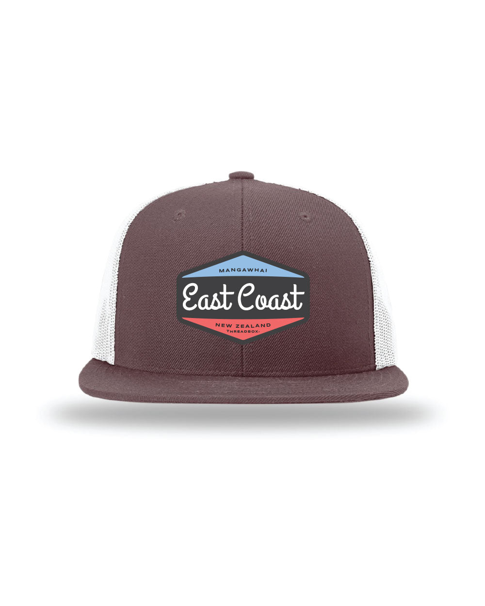 East Coast Wool Maroon Trucker Hat - Threadbox