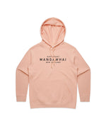 Ladies East Coast Pink Hoody - Threadbox