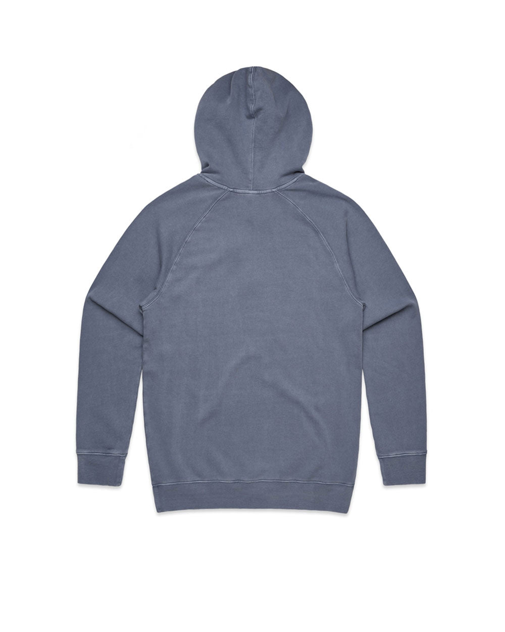 No Worries Faded Blue Hoody - Threadbox