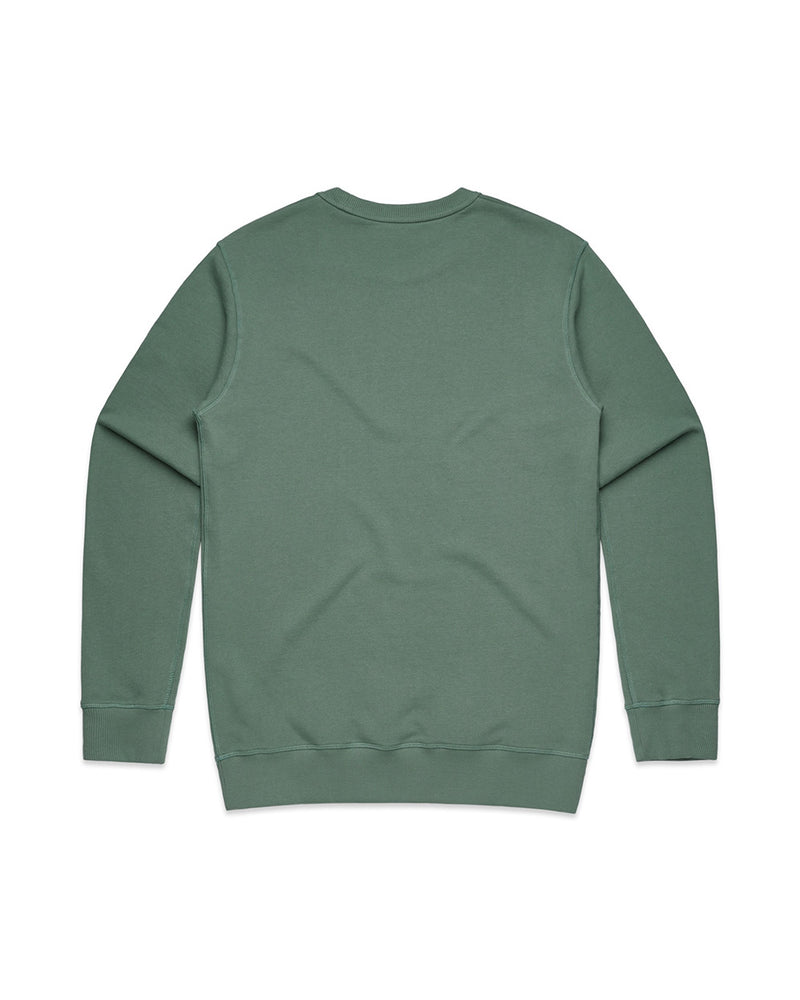 Mens Sage Signature Crew - Threadbox