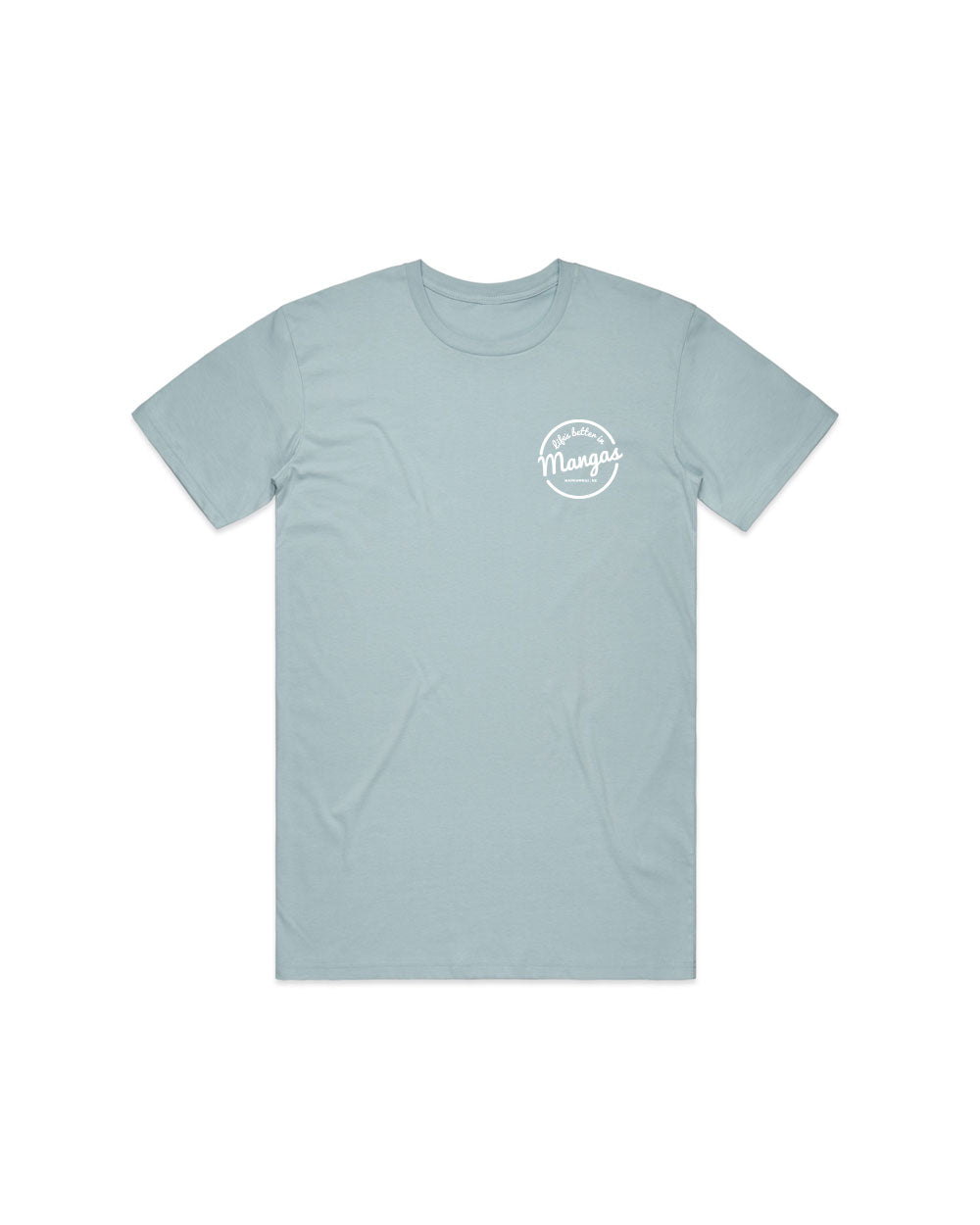 Mens Life's Better Sky Tee - Threadbox