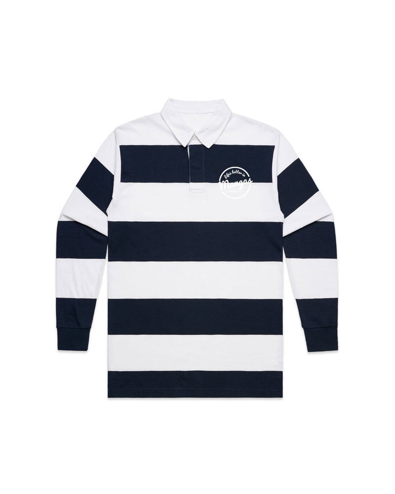 Rugby Jumper Navy - Threadbox