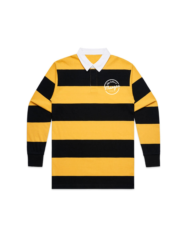 Rugby Jumper Yellow - Threadbox