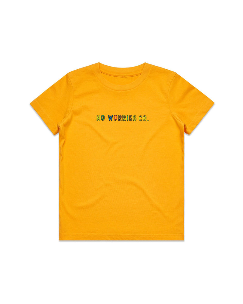 Kids No Worries Kids Tee - Threadbox