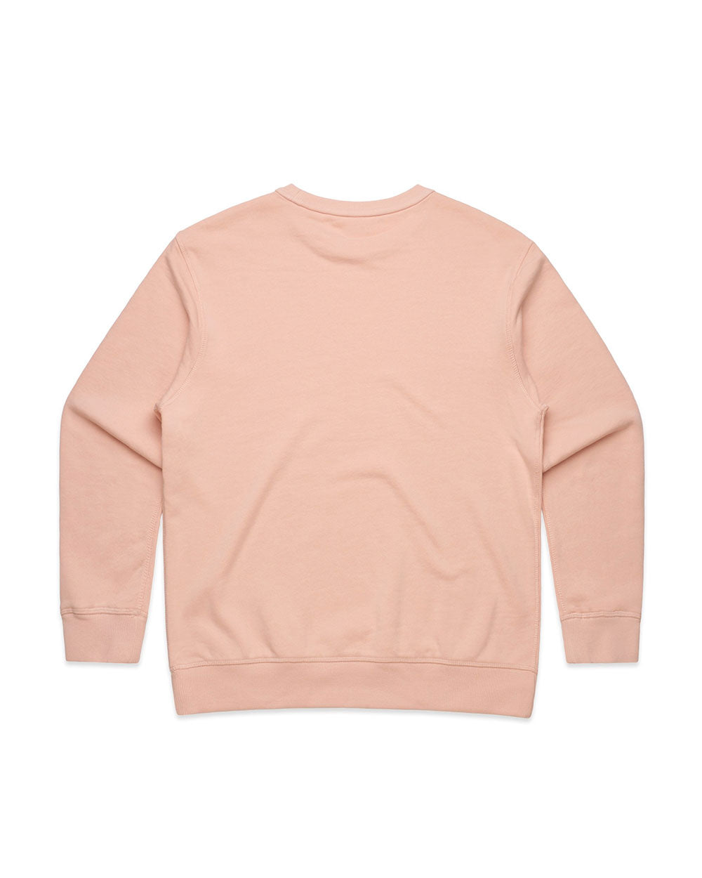 Ladies Signature Pale Pink Crew - Threadbox