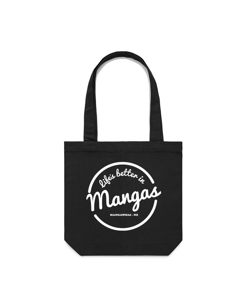 Life's Better Black Tote bag - Threadbox