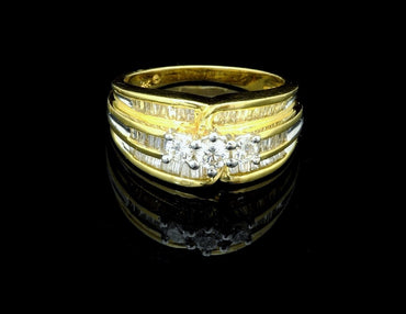 Diamond Ring 14 Karat