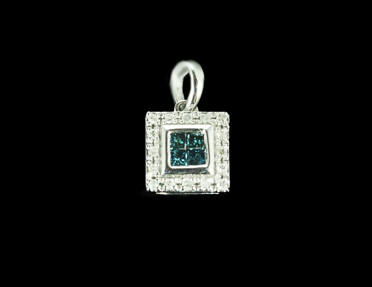 Diamond Pendant 14 Karat