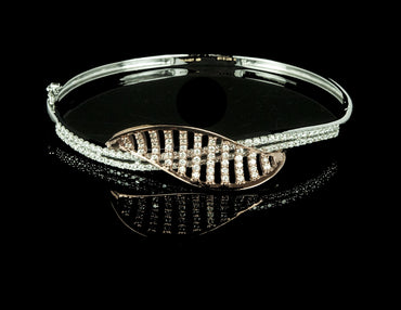 Diamond Bangle Bracelet 18 Karat
