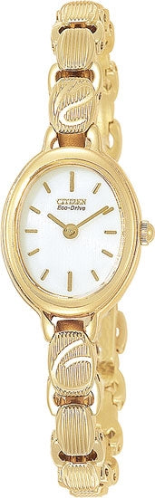 Citizen Women's Watch Gold Tone Stainless Steel EW8832-51A