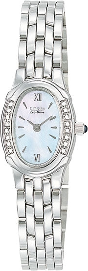 Citizen Women's Watch Diamond Stainless Steel EW8490-52D