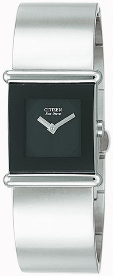 Citizen Women's Watch Stainless Steel Black Dial SY2020-58E