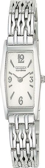 Citizen EG2150-57A Ladies Watch Stainless Steel Eco-Drive Silhouette White Dial