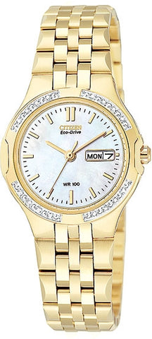Citizen Women's Watch Eco-drive with Diamonds  EW3112-57D
