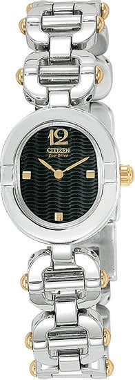 Citizen Women's Watch Two Tone Stainless Steel Eco Drive EW8814-52E