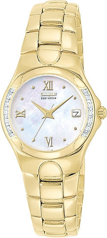 Citizen Women's Watch Stainless Steel Eco-drive EW0244-52D