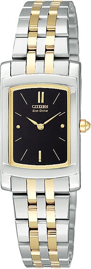 Citizen Women's Watch Two Tone Stainless Steel EG3134-58E