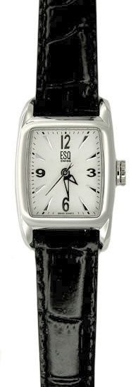 ESQ Women's Watch Quest Silver Dial Strap 07100949