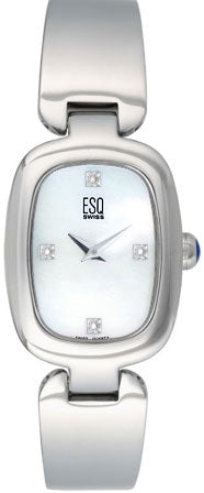 ESQ Women's Watch Love Knot Mother of Pearl Dial Diamond 07100925