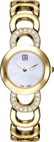 ESQ Women's Watch Cameo Gold Tone 07100843