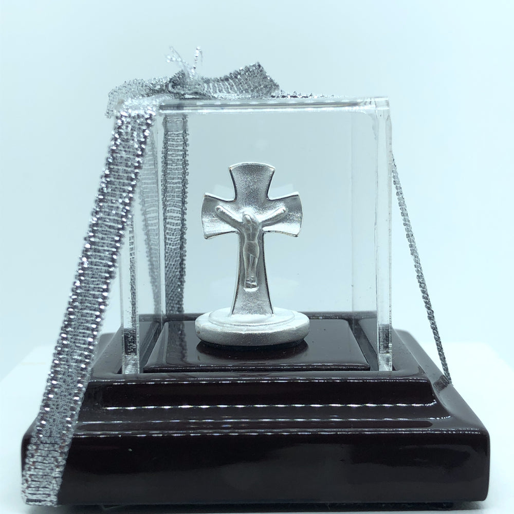 Silver Religious Cross  Idol