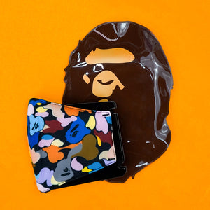 "A bathing Ape ""Multi Camo"" FaceMask"