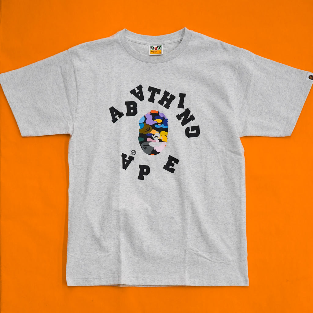 "A Bathing Ape ""Scramble College Tee"""